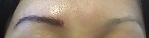 asiatique sourcils